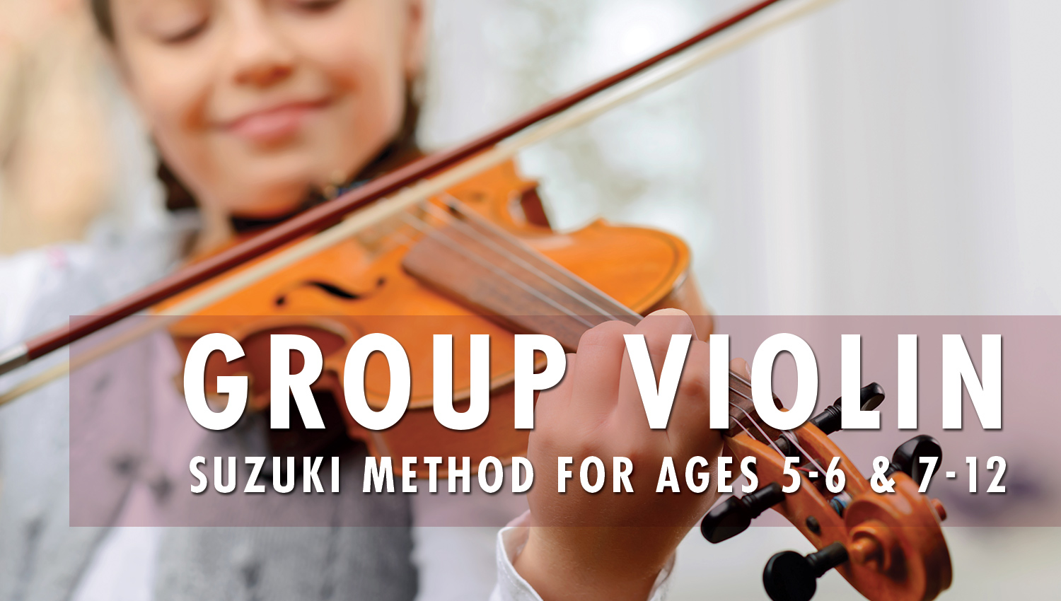 Group Violin Lessons - Visionary Centre for Performing Arts