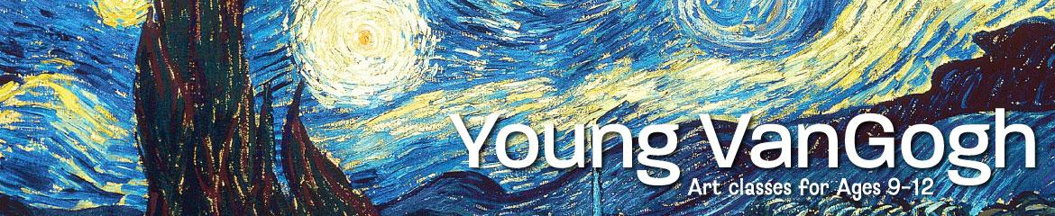 Young VanGogh - Art Summer Camp for Ages 9-12